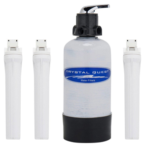 CRYSTAL QUEST Mid Size Whole House Filters Eagle 1000-FG|1000-SS