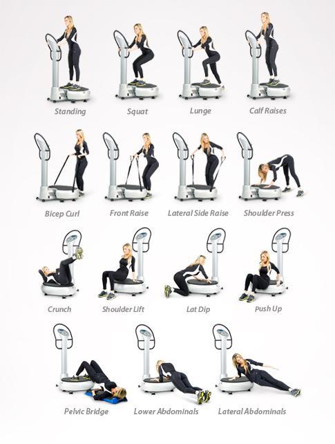 vibrating exercising machine
