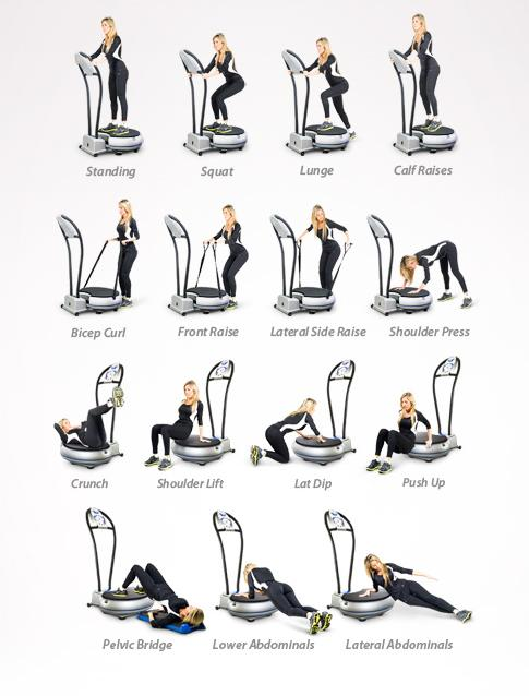 vibration machine exercises