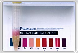 50/100 Professional Heavy Metal Tests Kit - Urine and Water