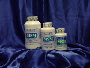 Rich Distributing's MSM Tablets - The Original MSM