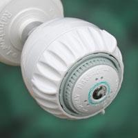 amcor massage shower head and hand held shower hose kit